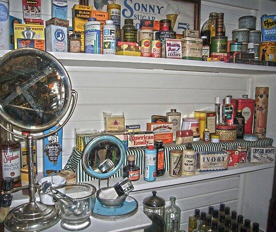 Mercantile Store Goods by Susan S. Kline