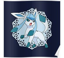Lace Glaceon Poster