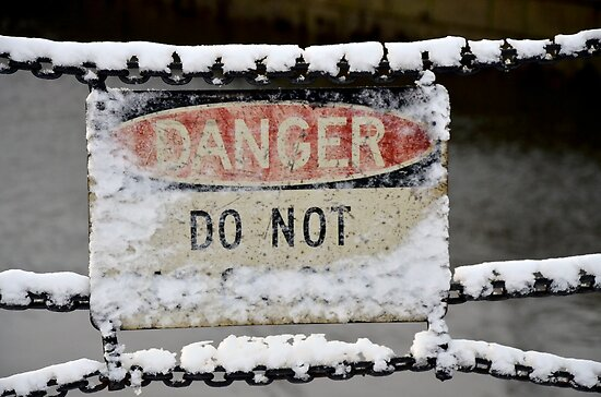 Danger Sign by d1373l