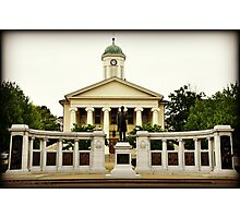 The Bellfonte PA. Couthouse Photographic Print