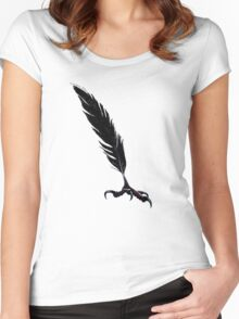 Carrion Quill Women's Fitted Scoop T-Shirt