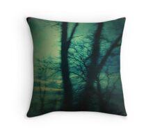 Forest Flight Throw Pillow