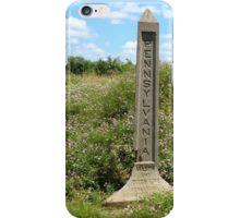 Mason Dixon Line iPhone Case/Skin