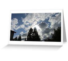 Clouds in the Neighborhood  Greeting Card