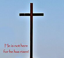 He's not here for He has RISEN! by aprilann