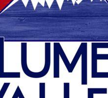 Columbine Valley Colorado wood mountains Sticker