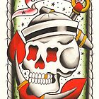 Navy Skull and Anchor by MikeFrench