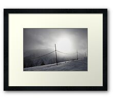 Puy St. Vincent, France * Framed Print