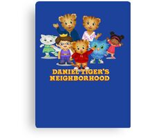 Daniel Tiger welcomes you Canvas Print