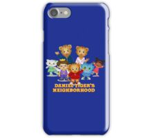 Daniel Tiger welcomes you iPhone Case/Skin