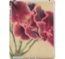 Geranium Frills iPad Case/Skin