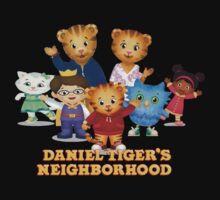 Daniel Tiger welcomes you Kids Tee