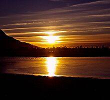 Fraser Valley Sundown by Sheri Bawtinheimer