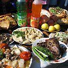 Traditional Foods at Spring Celebration by M-EK