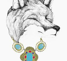 Fox Necklace by Alice Prior