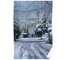 North Lodge, Maze Hill in Snow Poster