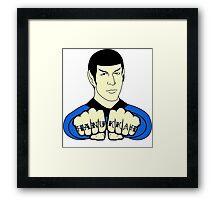 Spock Hanukkah! Framed Print
