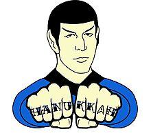 Spock Hanukkah! Photographic Print