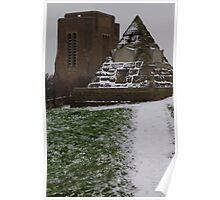 James Burton Pyramid and St.Leonards Church Poster