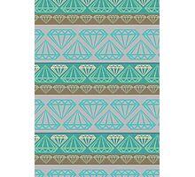 Diamond Pattern Photographic Print