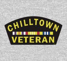 'Chilltown Veteran' One Piece - Short Sleeve