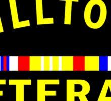 'Chilltown Veteran' Sticker