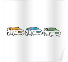 Rally Car Artwork - Multiple Product Styles Available  Poster