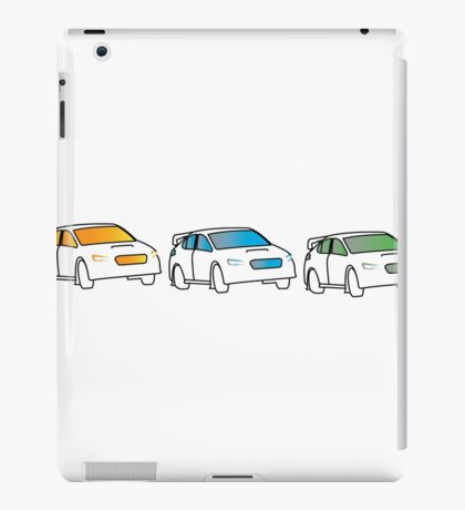 Rally Car Artwork - Multiple Product Styles Available  iPad Case/Skin
