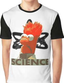 Science with Beaker Graphic T-Shirt
