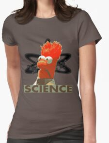Science with Beaker Womens Fitted T-Shirt