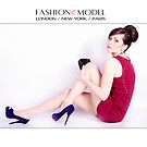 Fashion Model iPad Case by Love Through The Lens