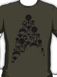 Ships Trek (Black Version) T-Shirt