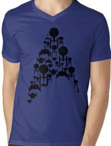Ships Trek (Black Version) Mens V-Neck T-Shirt