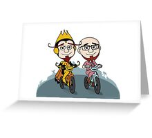 The Monarch & Dr. Venture Greeting Card