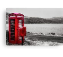 Hanging On The Telephone Canvas Print