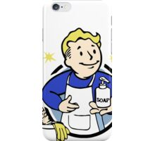 Pip Boy - Cleanliness Is Godliness iPhone Case/Skin