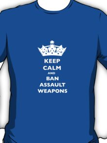 BAN ASSAULT WEAPONS T-SHIRTS T-Shirt