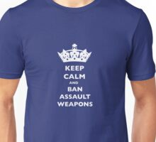 BAN ASSAULT WEAPONS T-SHIRTS Unisex T-Shirt