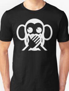3 Wise Monkeys Iwazaru 言わざる Speak NO Evil Emoji T-Shirt