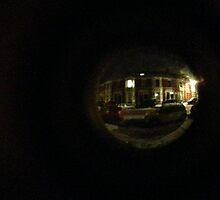 through the peephole by Olly  Pirozek