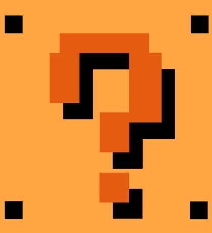 Question Brick Sticker