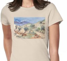 My Aloe route Womens Fitted T-Shirt