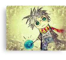 Harry Potter. Cartoon. Canvas Print