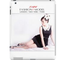 """ I AM "" Fashion Model Designer iPad Case iPad Case/Skin"
