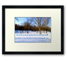 Soft Bliss Framed Print
