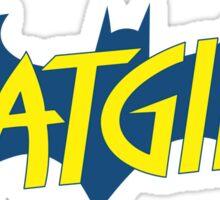 Batgirl logo Sticker