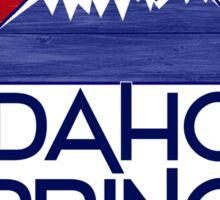 Idaho Springs Colorado wood mountains Sticker