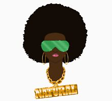 Natural Hair Womens Fitted T-Shirt