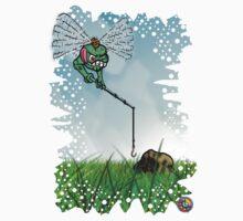 Come Piedras Volador (Flying Rock Eater) Kids Tee
