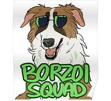 BORZOI SQUAD (RED SABLE) Poster